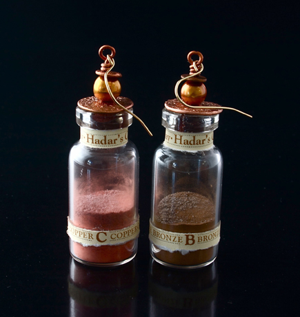 Hadar's Magic Powder Earrings