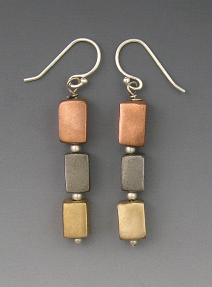 3-cube earrings