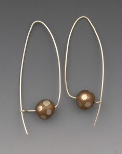 t-Ball earrings