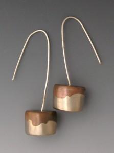 t-Drum earrings