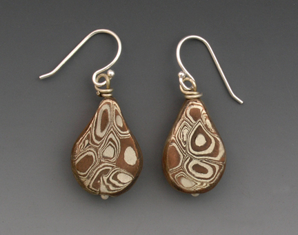 Sterling Silver Clay Copper Clay And Mokume Gane Hadar
