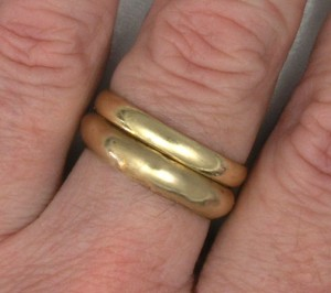 Two rings together