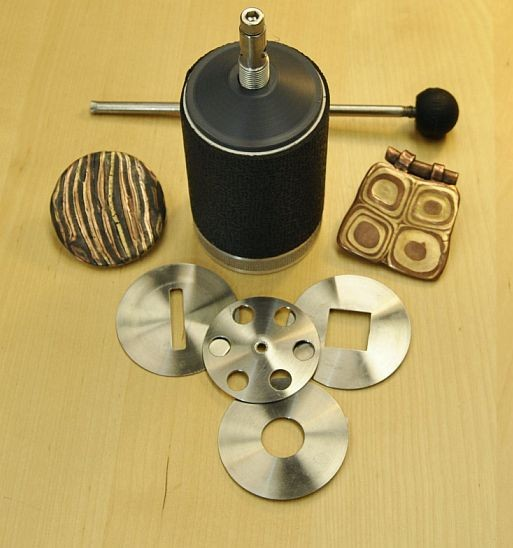 ClayMill Metal Clay Extruder