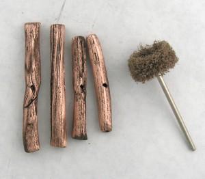 Buff logs