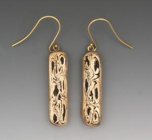 Brilliant Bronze earrings