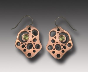 Copper and peridot