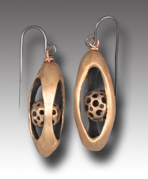 t-Cage earrings